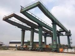 崇明地区二手废旧行车,大型码头起重机械回收加工中心