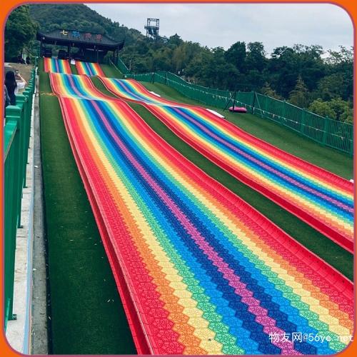 彩虹滑道好玩吗 上客量有多大我来告诉你 大型室外彩虹滑道项目