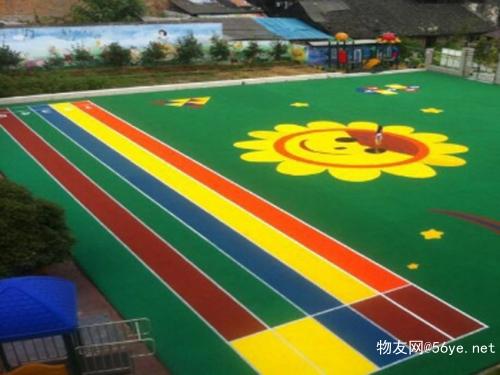 广东深圳幼儿园EPDM塑胶跑道施工