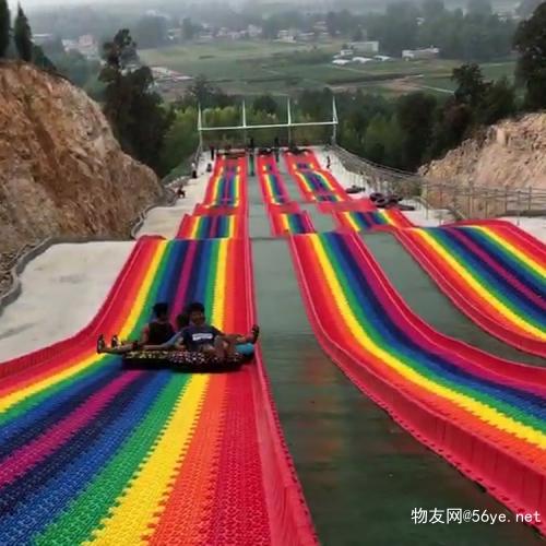 找回久违的快乐 景区滑道 彩虹滑道游乐设备 网红滑道