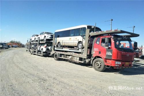 从克拉玛依到天津托运私家车往返专线,价格实惠