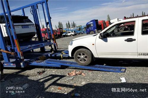 在乌鲁木齐托运汽车到肇庆来运车帮价格不高